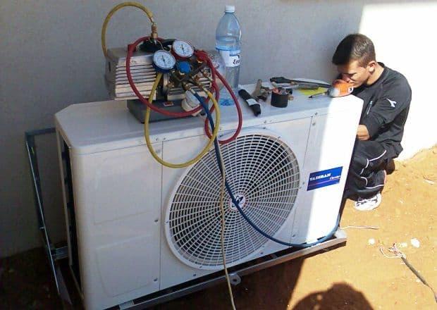 Замена и ремонт компрессора кондиционера