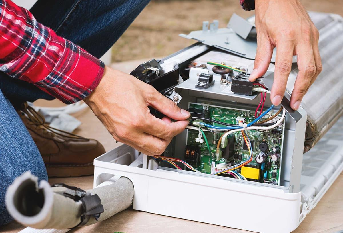 Перечень услуг по ремонту кондиционеров